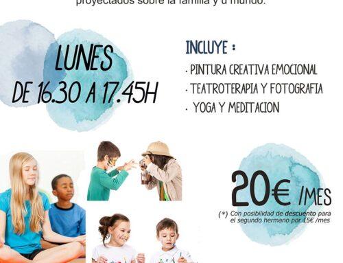 Novedad: grupo de arteterapia para niños/as.