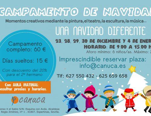 Campamento de Navidad en CANUCA.