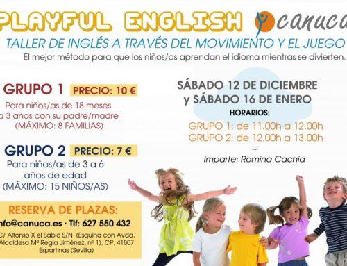 Playful english: Taller de inglés a través del juego.