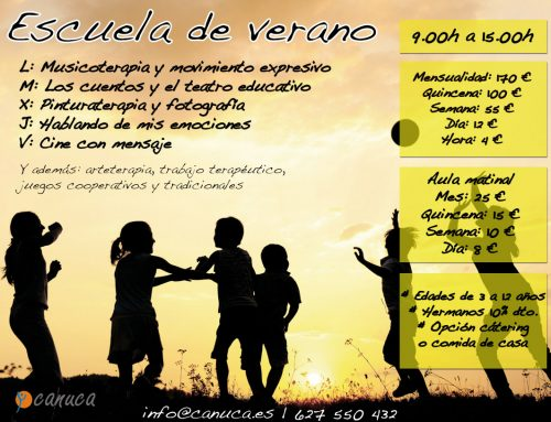 Escuela de verano en Espartinas